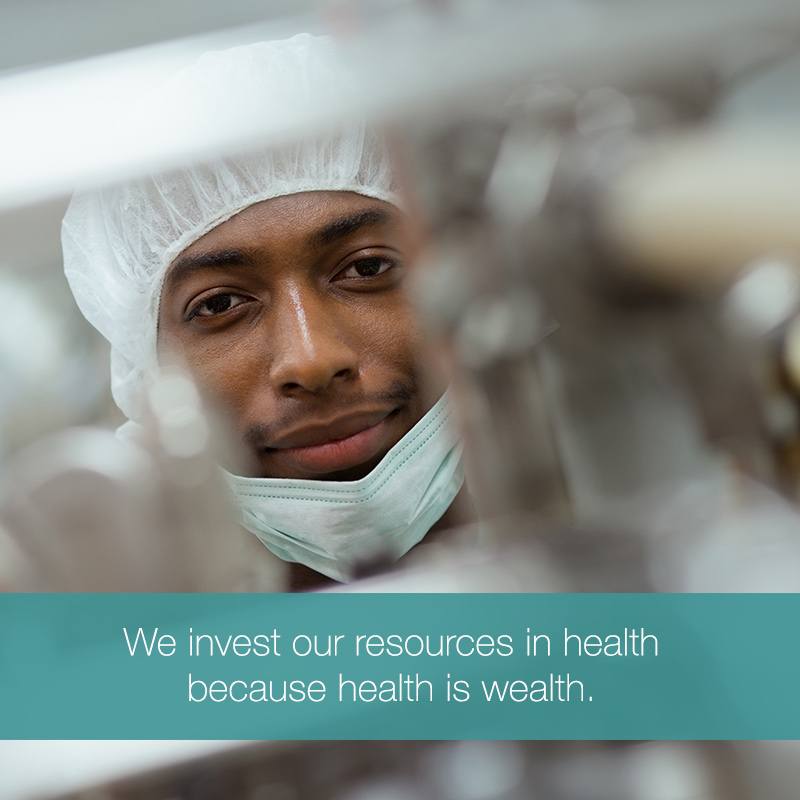 We are an investment company with interests in healthcare assets. MOBILE