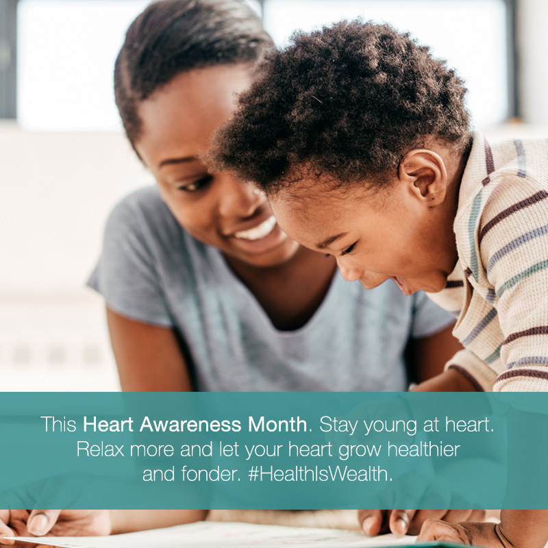 RH Bophelo Heart Awareness Month Playful Moments MOBILE
