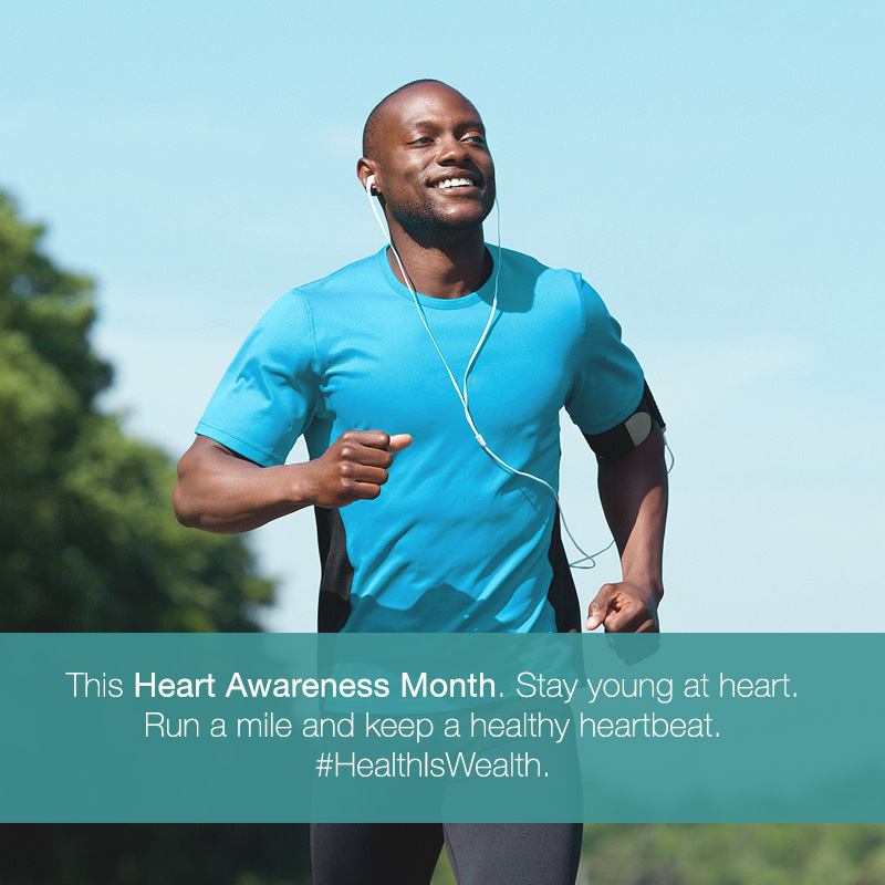 RH Bophelo Heart Awareness Month Run a mile MOBILE