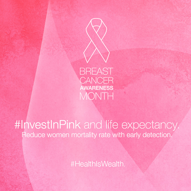#InvestInPink and life expectancy (MOBILE)