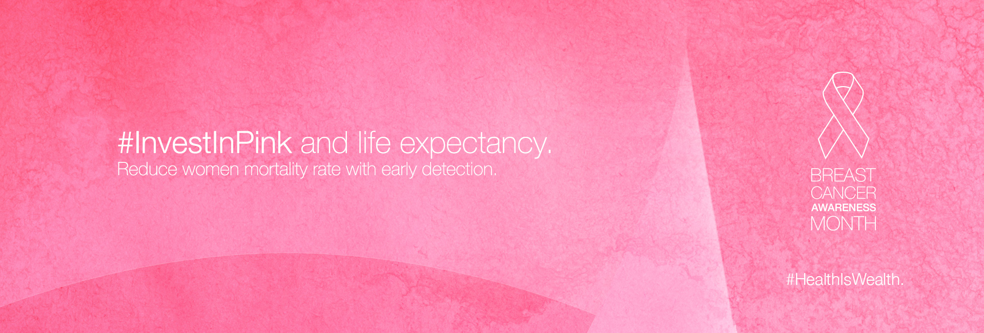 #InvestInPink and life expectancy (WEBSITE)